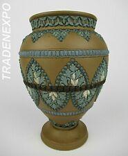 "Antique Royal English DOULTON LAMBETH Stoneware Period ""Silicon Ware"" 1883 Vase"