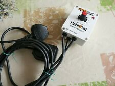 *HABISTAT* Vivarium/Terrarium DIMMING THERMOSTAT heat/light control EC EWO rp£60