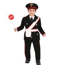 Vestito Costume Carabiniere Baby 1/2 Anni Carnevale Pegasus Party