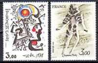 Francia 1979 Yvert n° 2067 et 2068 neuf 1er elección