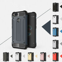 For Xiaomi Mi A1/Max 2/Redmi 4X Luxury Hard Armor Shockproof Silicone Case Cover