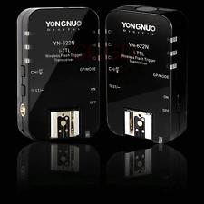 YONGNUO YN-622N Wireless TTL Remote Flash Trigger For Nikon D800 D3200 D5200