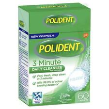 3x Polident Fresh Active Denture Cleanser 60 Pack Exclusive Size