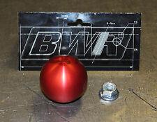 Blackworks Racing BWR 10x1.5 Aluminum Ball Style Shift Knob Red Honda Acura