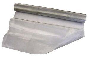 UK  Fine Aluminium Modelling Mesh - 3m x 50cm Roll