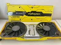 NVIDIA GeForce RTX 2080 Ti Cyberpunk 2077 Edition Front & Back Plate Only USED
