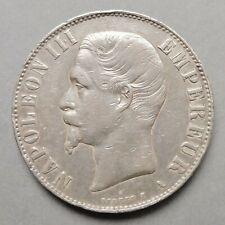Napoléon III, Tête nue - 5 Francs - 1856 A  Paris
