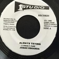 JUDAH ESKENDER TAFARI - ALWAYS TRYING (STUDIO 1) 1978