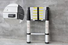 3.2M Aluminum Telescopic Telescoping Collapsible Loft Ladder ExtensionExtendable