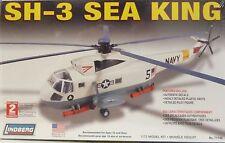 Lindberg 1/72 SH-3 Sea King Helicopter Model Kit 71140 New