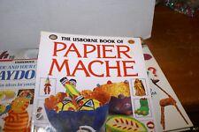 Lot of 4 Craft Books For Children Teachers PAPIER MACHE,TRASH TO TREASURE,PLAYDO