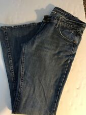 Abercrombie & Fitch Flare Jeans Womens Size 8 Distressed