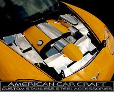 2005-2013 Corvette C6 & Grand Sport Polished Stainless Inner Fender Covers - 4pc