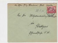 germany 1934 wagners opera stamps cover ref 20088