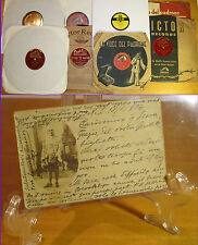 ENRICO CARUSO very rare early ALS 01/18/1904 + 78 + Gigli + Arthur Smith blues !