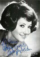 Opera - Autografo del soprano Margherita Guglielmi (Teatro alla Scala di Milano)