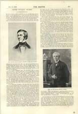 1894 Oliver Wendell Holmes REMINISCENCE EG Turnbull a ficcare Divertente