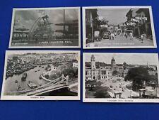 Singapore Postcards lot Of 4 Vintage