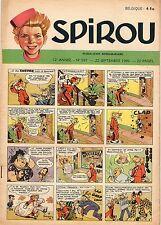 SPIROU 597 DU 22 SEPTEMBRE 1949