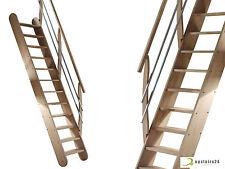 Escalier gain de place en hêtre massif - Living