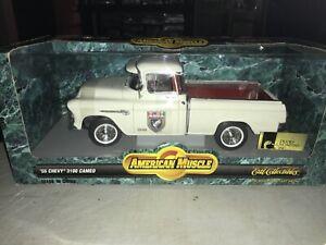 Ertl DUCKS UNLIMITED 1955 3100 Cameo Truck NIB Rare Diecast 1/18 American Muscle