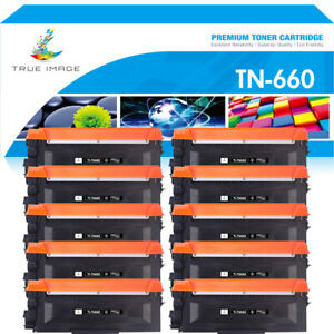 10 PK High-Yield TN660 Toner Compatible TN630 For Brother DCP-L2540DW Lots Black