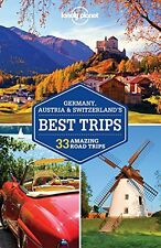Lonely Planet Germany, Austria & Switzerland's Best Trips (Travel Guide) New Pap