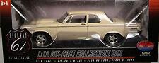 HIGHWAY 61/DCP DIECAST METAL 1:18 SCALE BEIGE 1964 DODGE 330 SUPER STREET HEMI