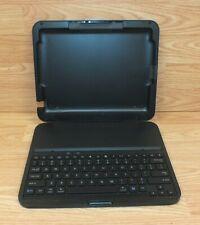 Genuine Logitech Black Wireless Bluetooth Tablet Keyboard For iPad **READ**