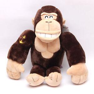 New Brown Gorilla Doll Plush Toy Animal Soft 50cm/19.5'' Stuffed Pillow KId Gift