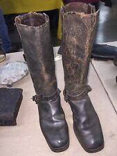 ORIGINAL CIVIL WAR CAVALRY OFFICERS BOOTS W/ SPURS