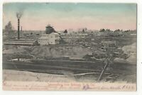 Johannesburg From Robinson Gold Mine Company South Africa 1905 U/B Postcard 034c
