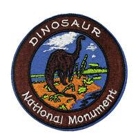 Dinosaur National Monument Embroidered Patch Iron/SewOn Applique Travel Souvenir