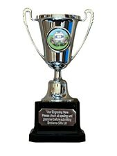 Football Silver Moment Cup Award Trophy (H2) ENGRAVED FREE