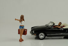 Guida galattica Set Hitchhiker personaggio figure 1:24 figures American Diorama/NO CAR