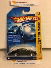 Buick Grand National #10 * Black * RARE w/ 5sp Rims * 2007 Hot Wheels * W55