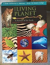 The Living Planet- A Portrait of the Earth Set (4 DVDs)