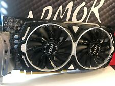 MSI Graphics Card Radeon RX 580 Armor 4gb OC 256-bit DirectX 12 AMD Original Box