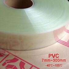 PVC Schrumpfschlauch Flachmaß 7mm~300mm für Paket RC Batterie Pack Transparent