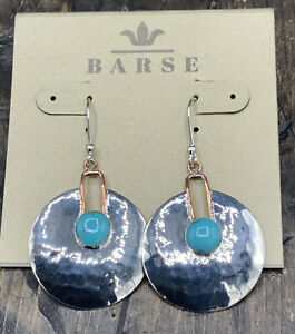 Barse Taxco Snake Charmer Earrings- Sterling Silver- New with Tags