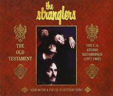 THE STRANGLERS - THE OLD TESTAMENT-THE U.A.STUDIO RECORDINGS 5 CD NEUF