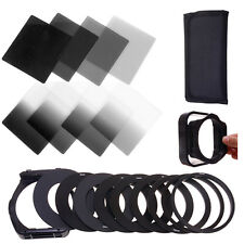 21in1 Graduated Color ND2 ND4 ND8 ND16 Lens Filter Kit Ring Adapter For Cokin P