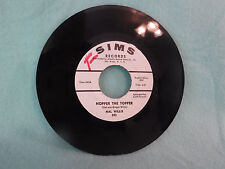 Hal Willis, Nopper The Topper / Thumb & Shoes, Sims Records 243, WLP, Rockabilly