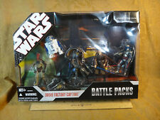 Star Wars 30th Battle Packs Attack Of The Clones II - Droid Factory Capture