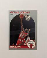 1990 NBA Hoops  Michael Jordan Basketball Card #60 Chicago Bulls Hall Of Fame