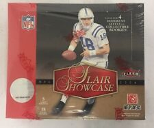 2006 Fleer Flair Showcase Factory Sealed Football Hobby Box