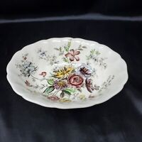 Johnson Brothers SHERATON Oval Vegetable Serving Bowl Made In ENGLAND 9""