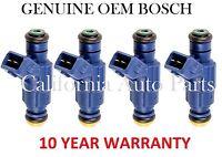 4X OEM Bosch fuel injectors for VW-Audi Passat/A4/A4 Quattro 1.8L (0280156065)