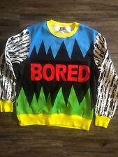 Teenage Bored XL Sweater Sweatshirt Crewneck Power Ranger Dope Jacket Pullover