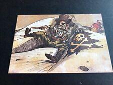 "DISNEYLAND Pirates of the Caribbean ""Dead Mans Grotto"" Marc Davis Art postcard"